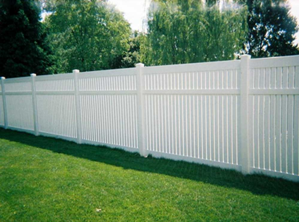 Yard fence images about modern fence options on pinterest for Decorative fences for backyards