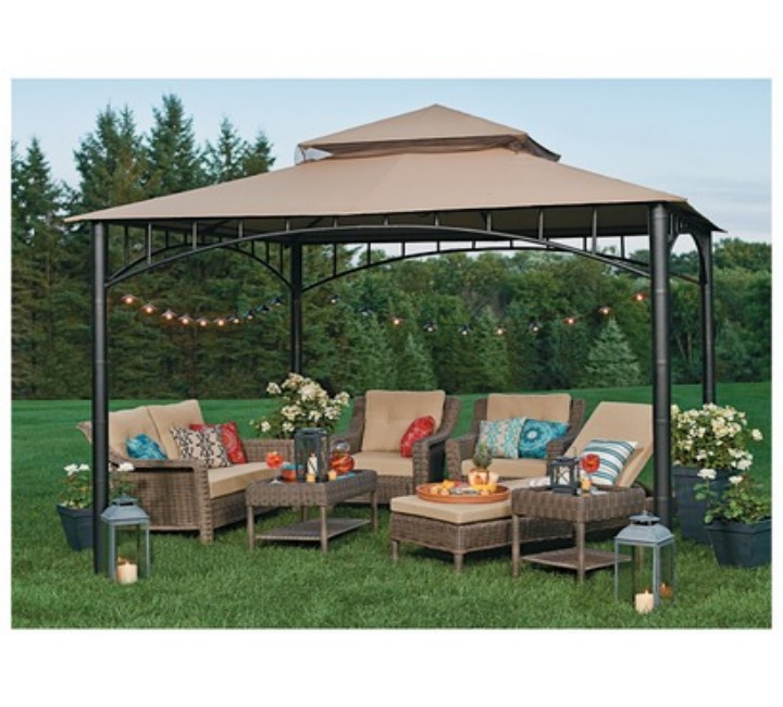 Gazebos Are Easily Available In Any Online Shop. The Canopy Gazebos Are  Quite Beneficial Which Gives You Some Extra Shading That Helps In Reducing  The ...