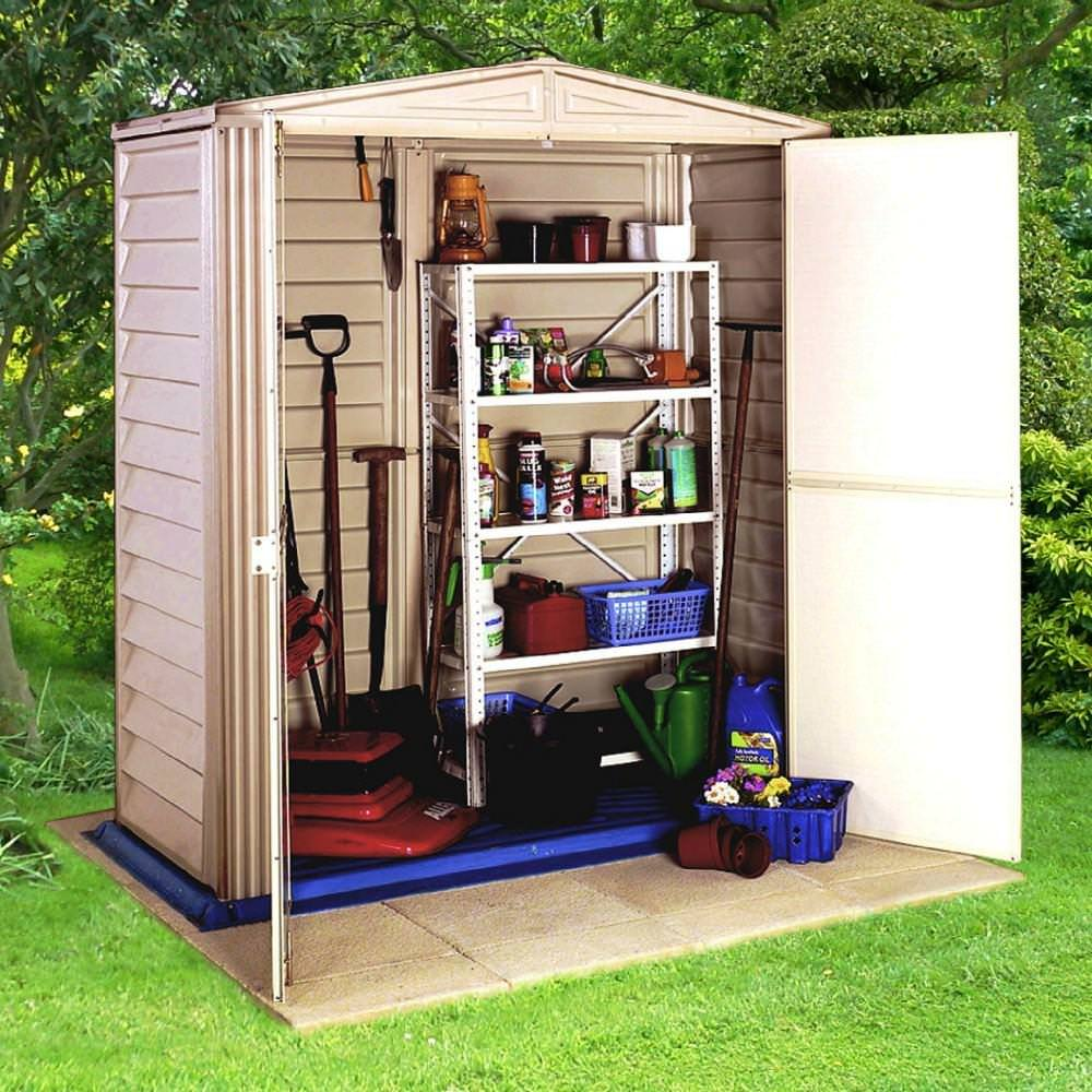 Charming Multi Purpose Backyard Storage Space