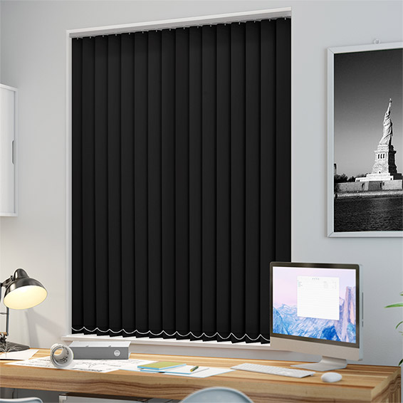 Black blinds to keep out privy neighbours carehomedecor for Home decor newtownards