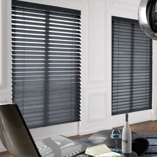 Black Blinds to keep out privy neighbours CareHomeDecor