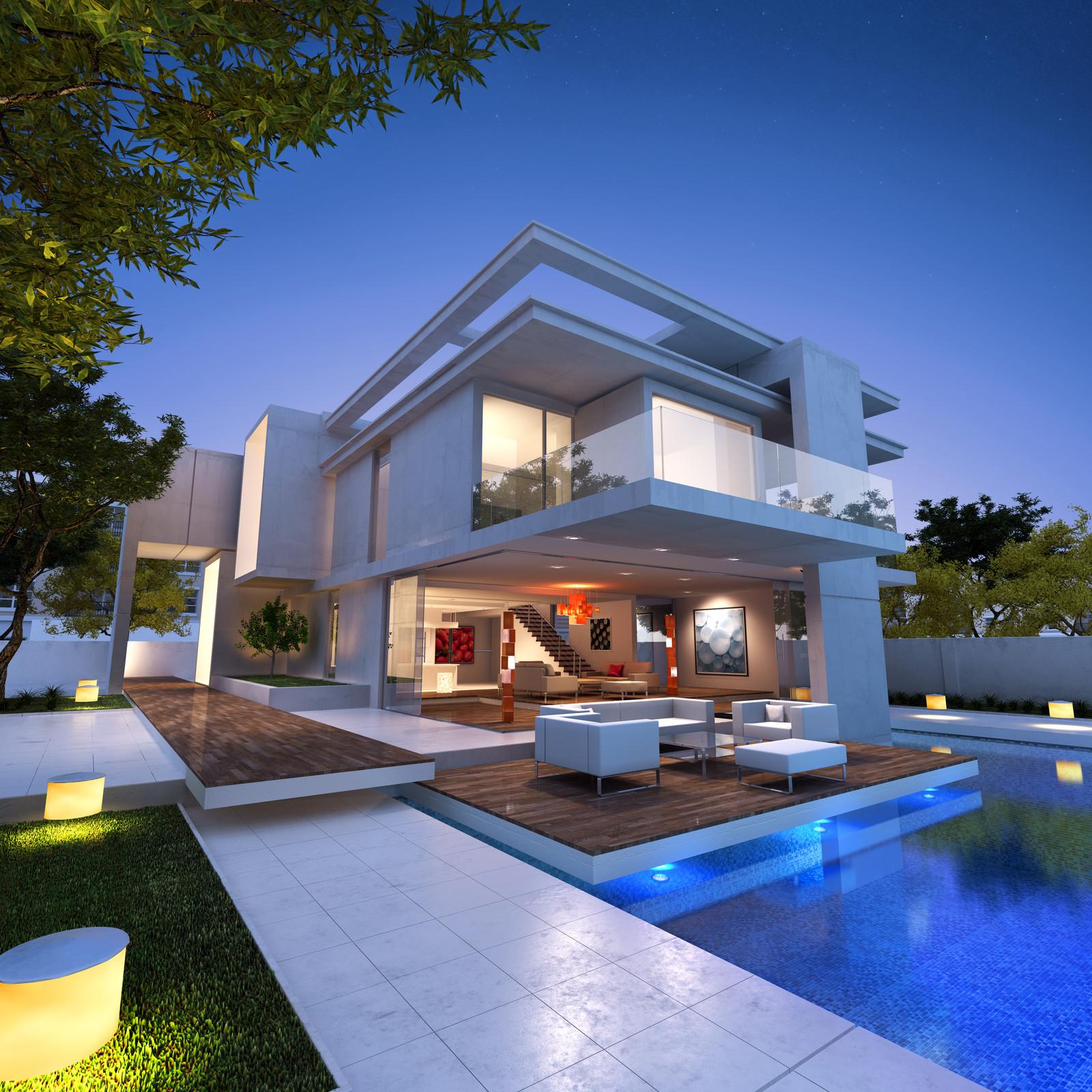 Contemporary Homes For Sophisticated Living Carehomedecor .