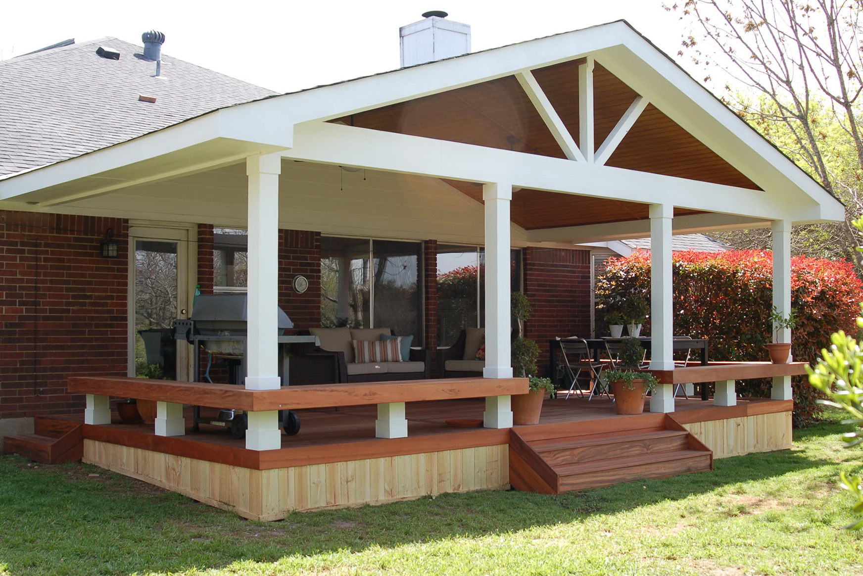 Covered Decks Offers an Extra Place To Enjoy - CareHomeDecor on Covered Back Deck Ideas id=96824