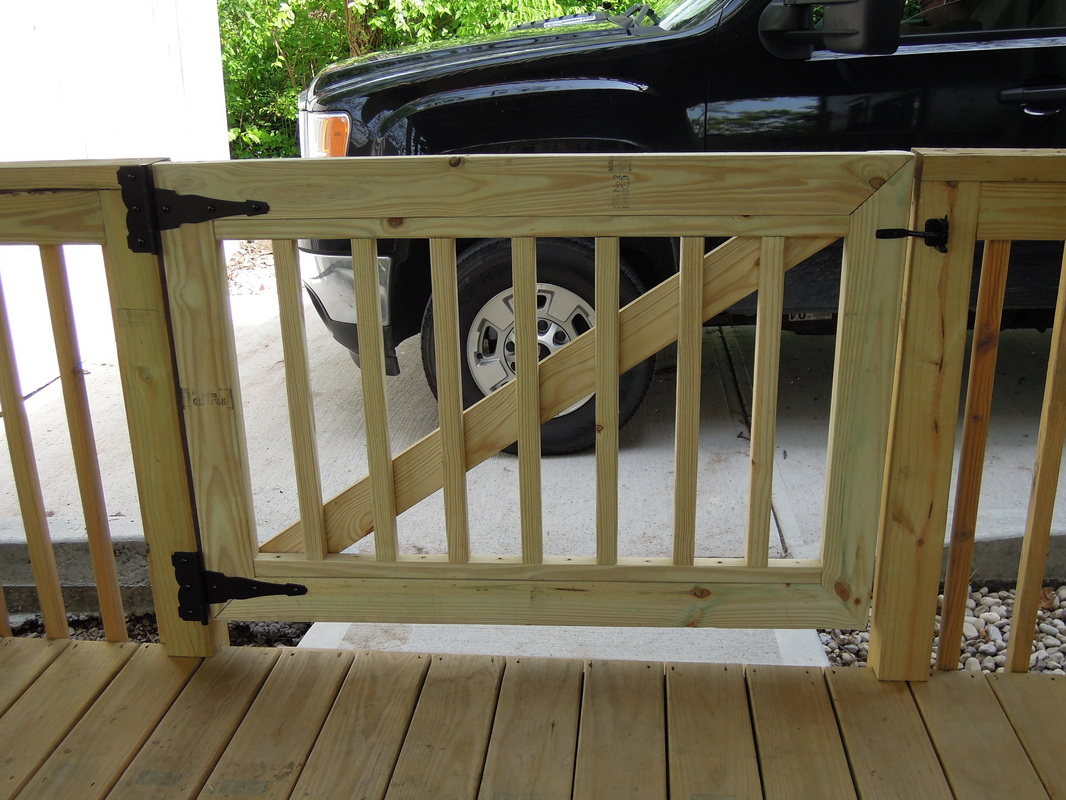 Deck Gates To Secure Your Deck Carehomedecor