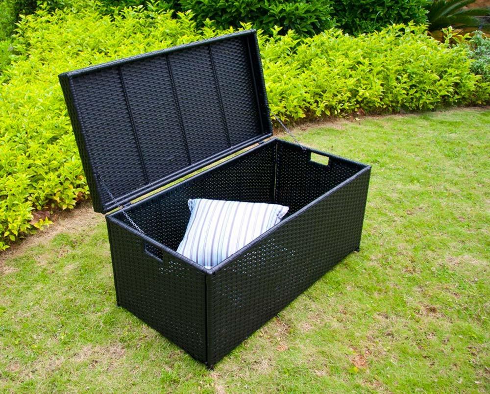 Deck Storage Box Offers Multiple Benefits Carehomedecor