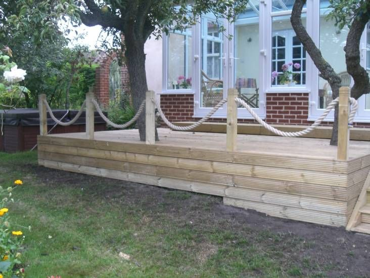 Decking Rope For The Perfect Style Statement CareHomeDecor - Garden decking rope