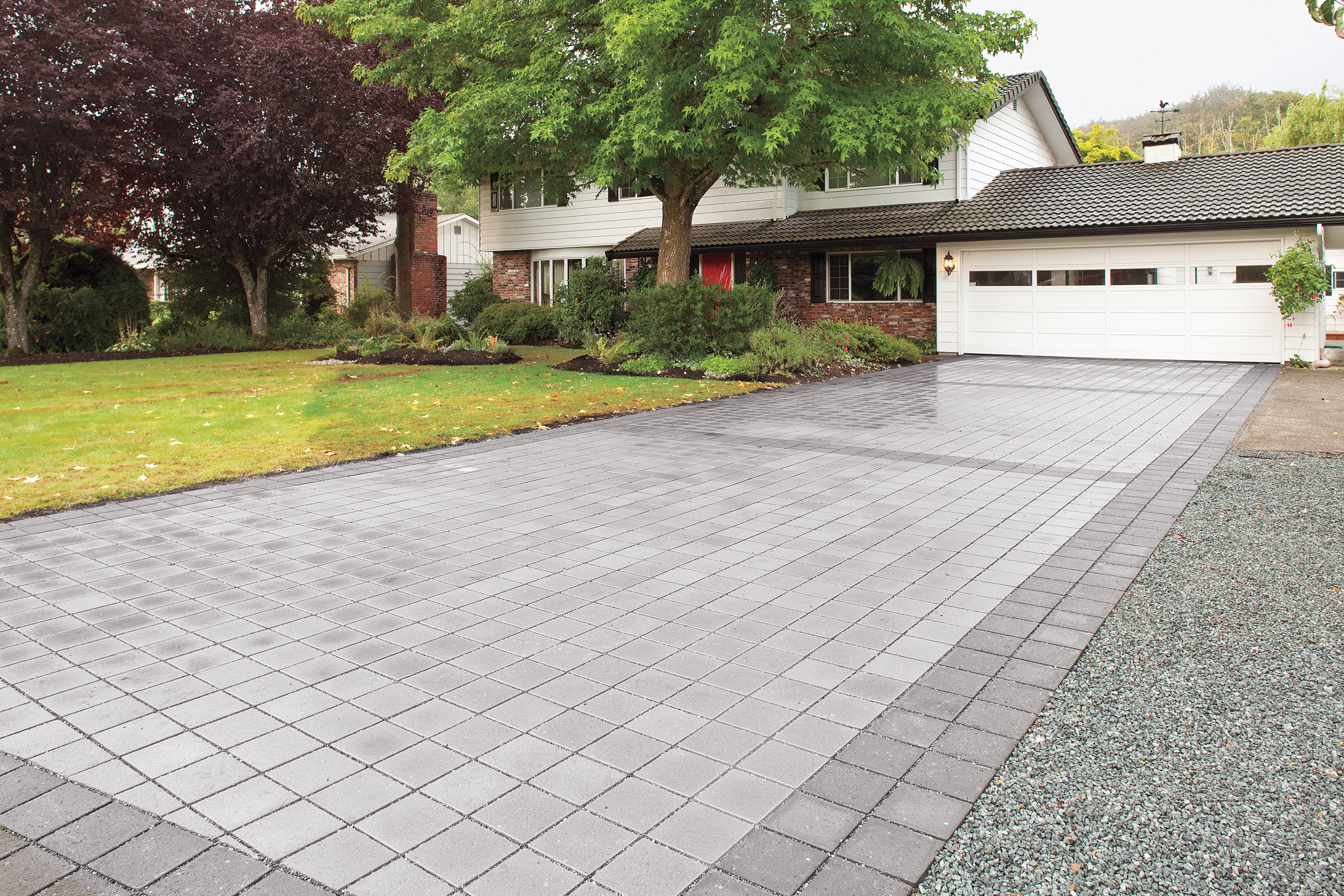 Driveway pavers all the time carehomedecor for New driveway ideas