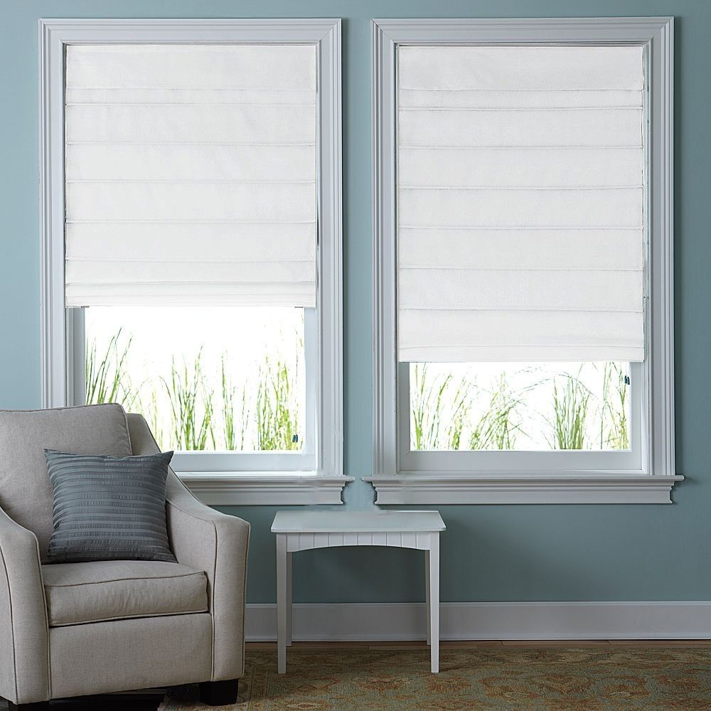 Fabric Blinds And Shades : Fabric roman shades for every home carehomedecor