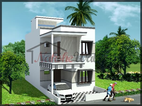front house design 1 1 - Get Simple Gate Design For Small House In India Images