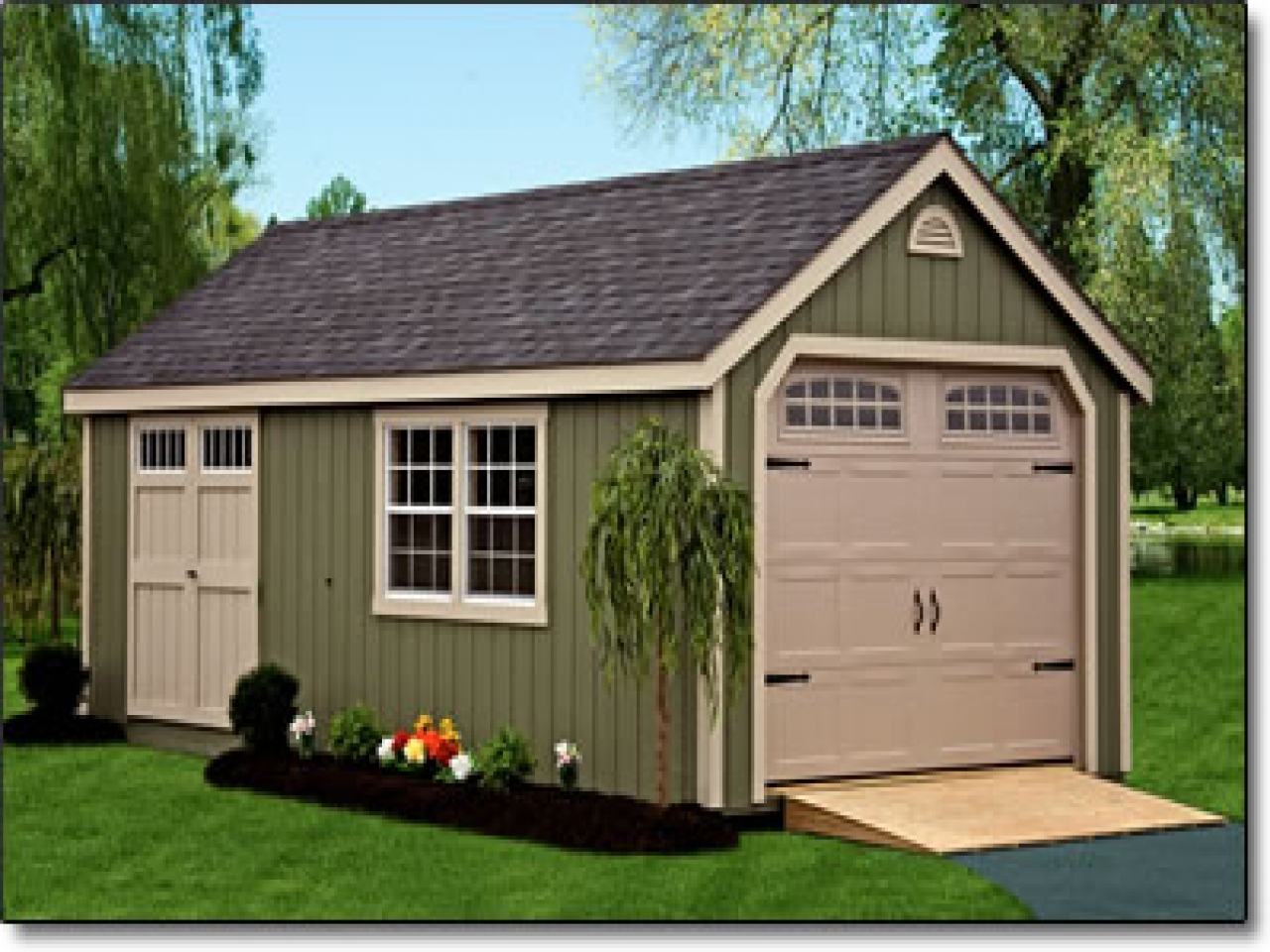 Garage Sheds To Protect Vehicles Carehomedecor