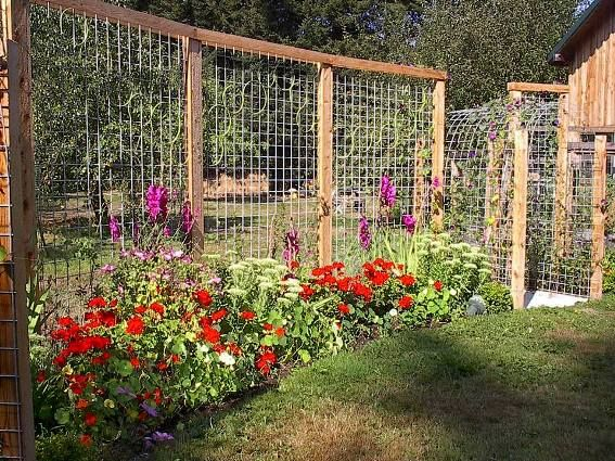 Delicieux Make Your Garden Fantastic By Fencing The Best Garden Fence U2013 CareHomeDecor
