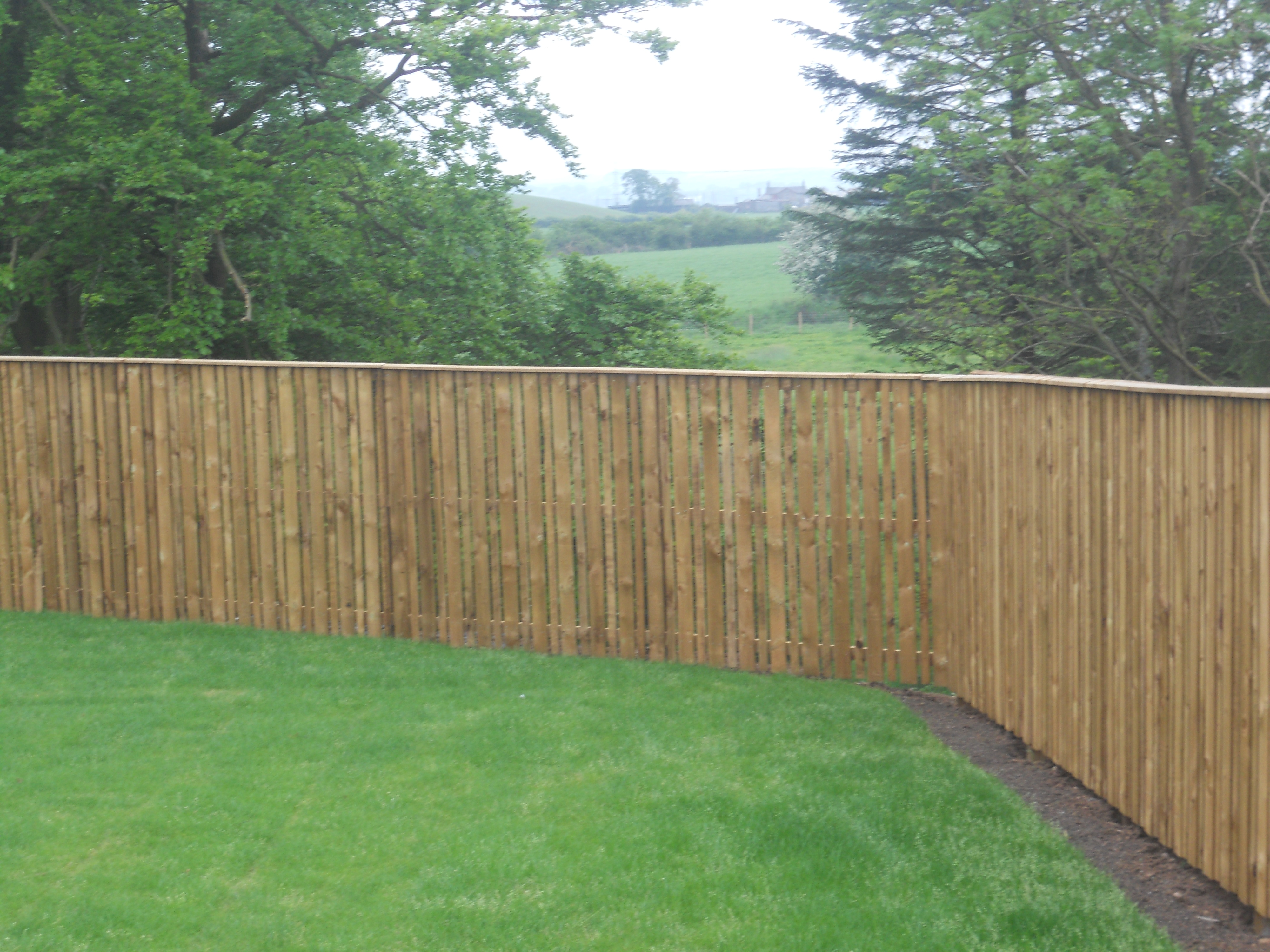 Fencing For Gardens Trellis Painted Orford Cream With Inspiration