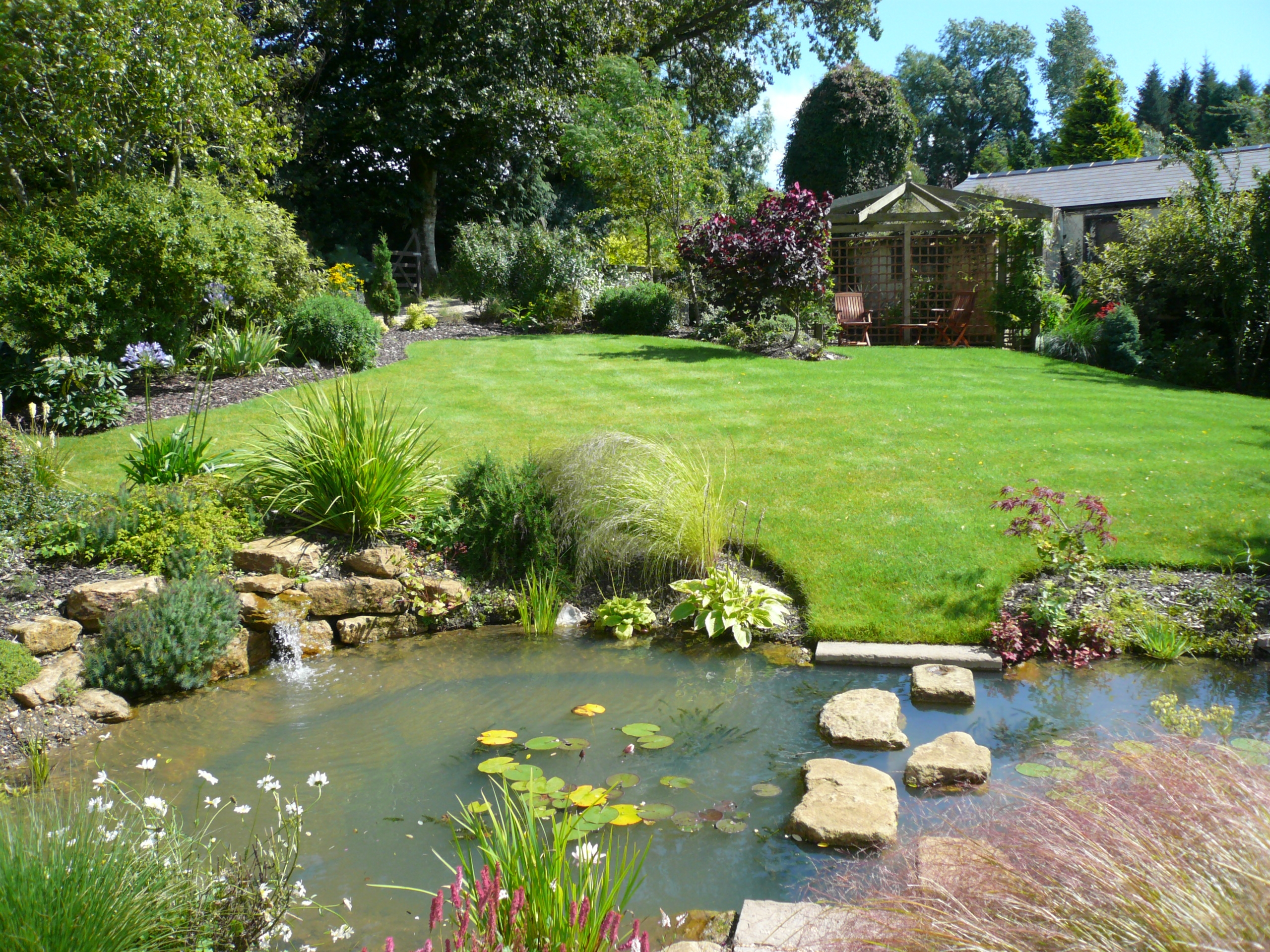 Design Appealing Garden Landscaping To Enhance Its Beauty - Landscape gardens