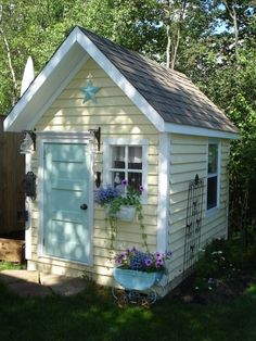 Garden shed ideas to make your yard beautiful CareHomeDecor
