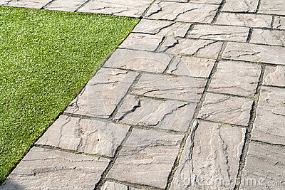 Beautiful Make Neat And Clean Garden With Garden Tiles