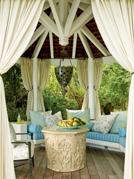 Give Fantastic Look To Your Place With Gazebo Curtains CareHomeDecor
