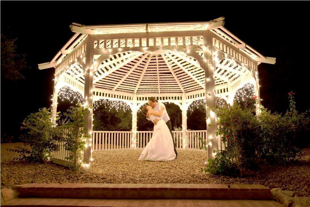 Make your night colorful with gazebo lights – CareHomeDecor