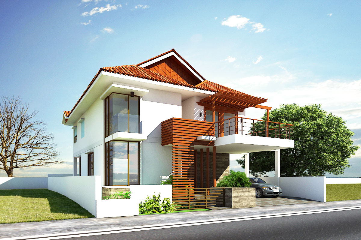 give fantastic look to your home with good home exterior design