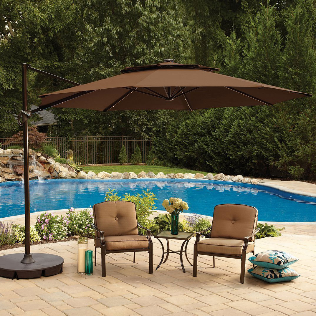 umbrella ft options umbrellas warmwhite steel hayneedle corliving product offset patio cfm