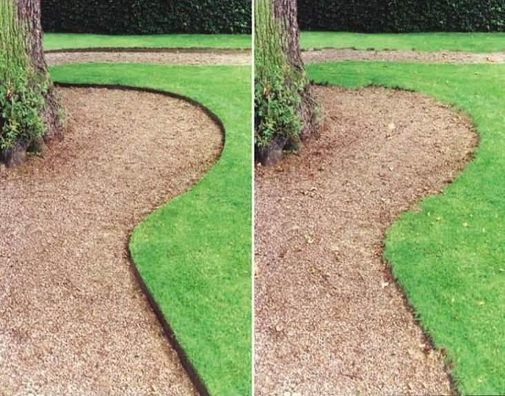 Metal landscape edging to add elegance to your garden for Landscape edging