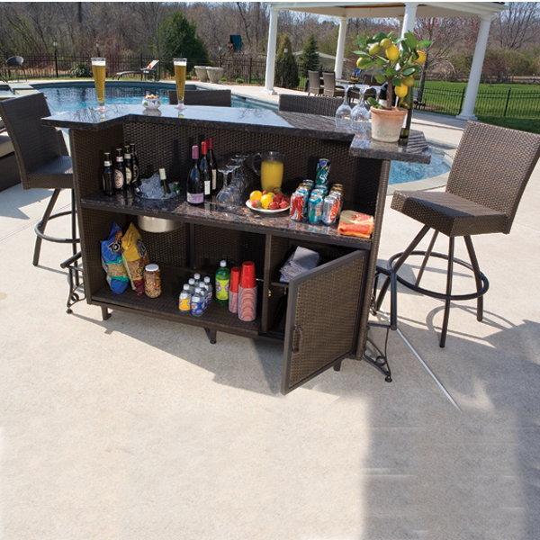 Outdoor Bar Sets For A Drink Under The Sun Carehomedecor
