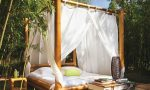 Enjoy the sunny dya with outdoor bed