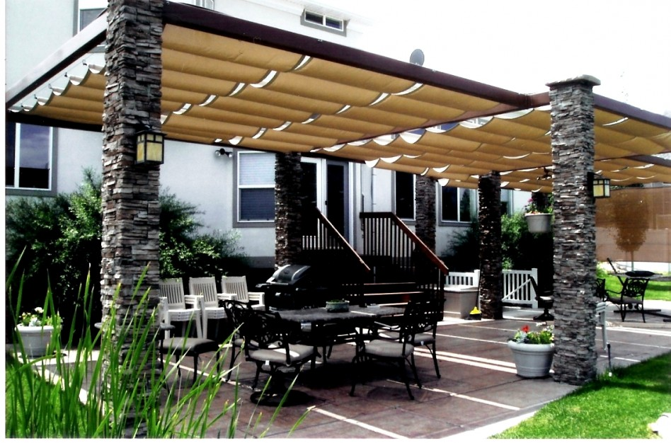 Outdoor canopy to enjoy and relax – CareHomeDecor |Permanent Backyard Tents