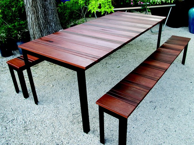 Outdoor dining set to enjoy your dinner CareHomeDecor