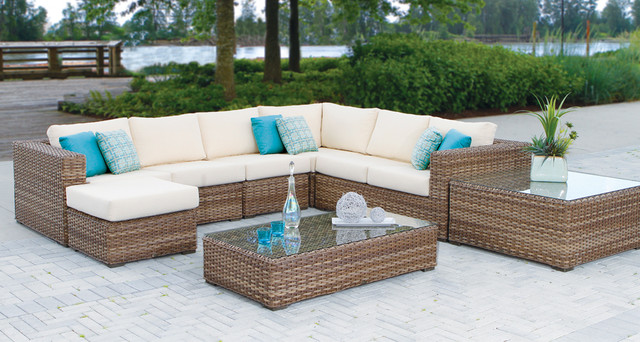 Nowadays Wicker Furniture Is Replaced By Synthetic Resin Made Of Recycled  Plastics And Have An Assured Life Of 20 Years.