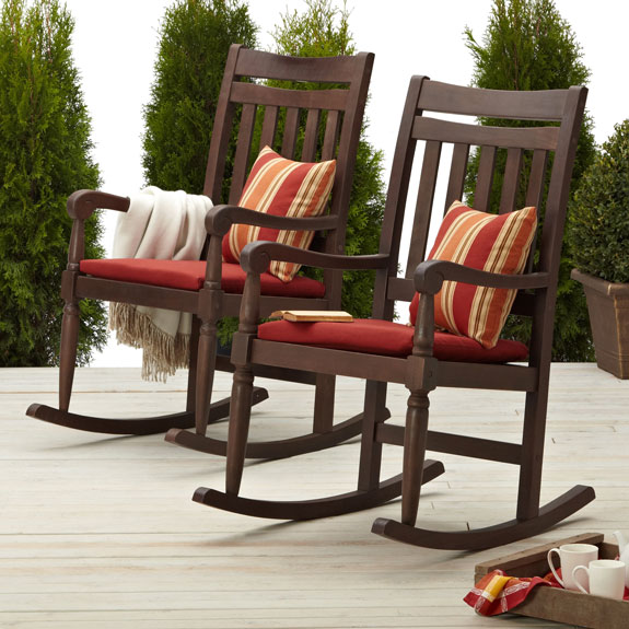 Very few of the outdoor rocking chairs are available with reclining  feature. With this feature - Best Outdoor Rocking Chairs Our Designs