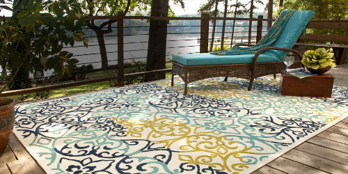 ... look for your outdoor space. Along with a wide array of these rugs y, u  can pick up according to your taste which is quite affordable and long  lasting. - Variety Of Outdoor Rugs For Patios Material €� CareHomeDecor