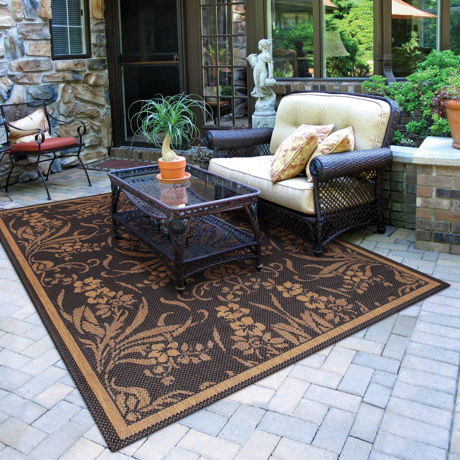 best material for outdoor rug - outdoor designs