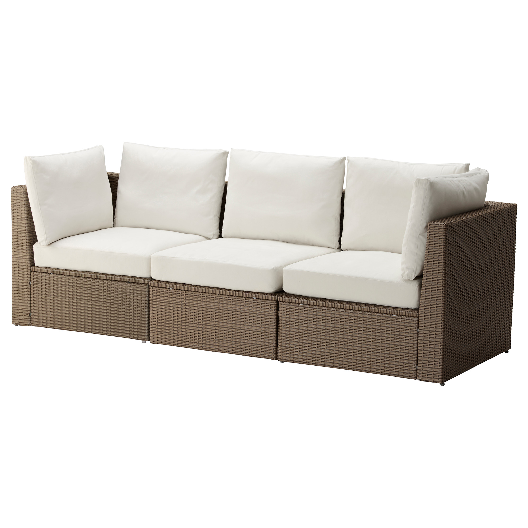 Use sectional sofa as a Patio couch A great extension of your