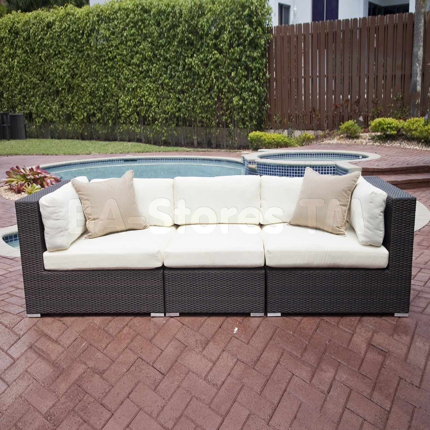 Use Sectional Sofa As A Patio Couch  A Great Extension Of Your Living Space