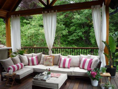 So, They Use Patio Drapes To Get More Comfortable And Relaxing Open Air  Environment. These Curtains Offer More Lovely And Amazing Ambiance To Their  Users.