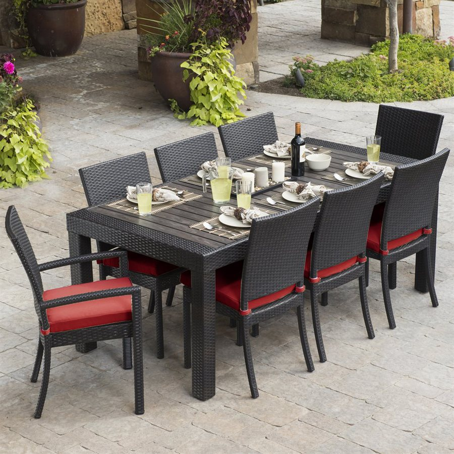 Patio dining sets great way to add the new look to your patio carehomedecor - Must have pieces for your patio furniture ...