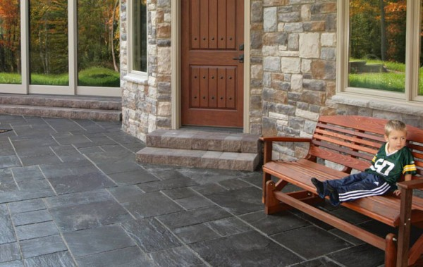 The Color Selection Of Tiles Will Complement The Patio Furniture And  Flowers. The Complementary Shades To Emphasize Certain Attributes Of Tiles  Will Help To ...