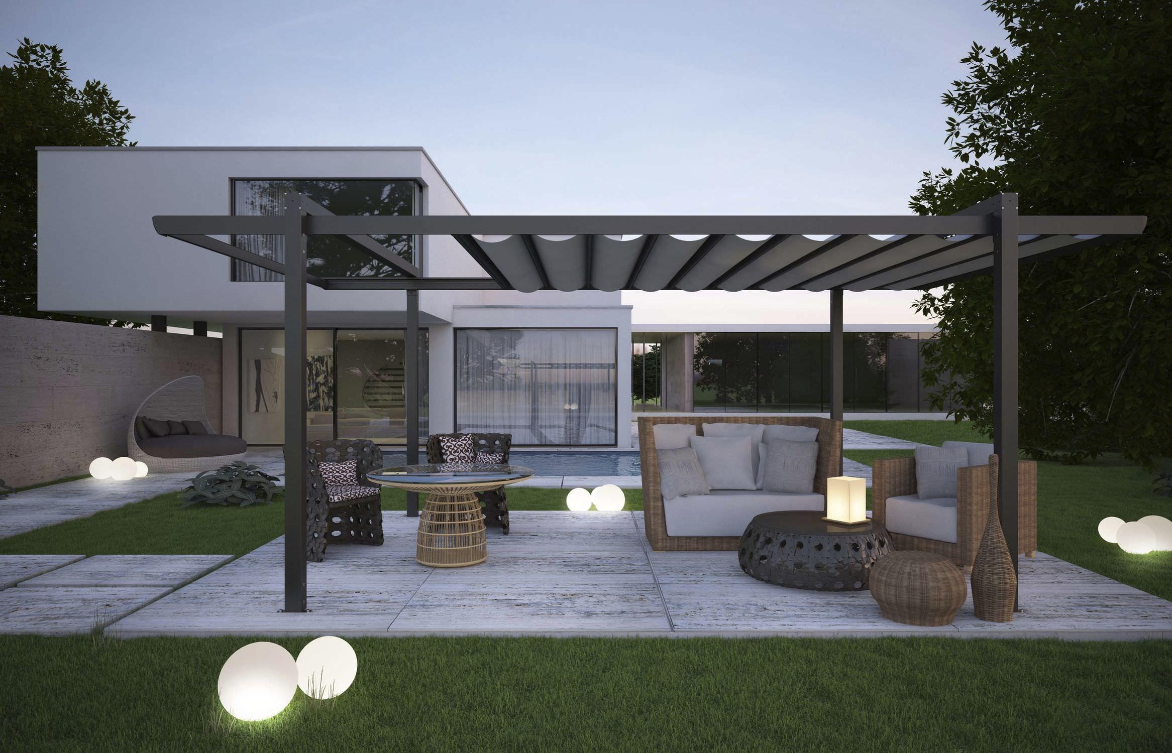 Pergola aluminium – perfect fit to your garden – CareHomeDecor