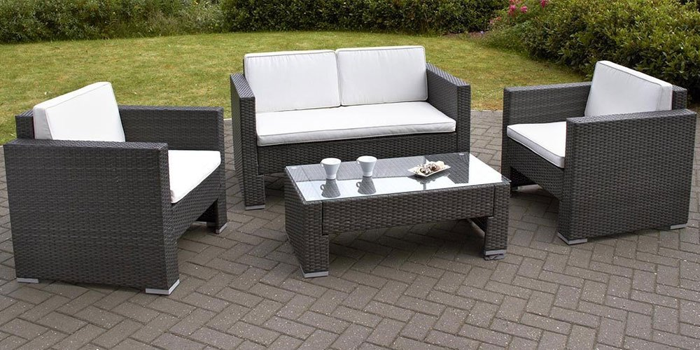 rattan garden sofa sets for classy garden carehomedecor - Rattan Garden Furniture 4 Seater