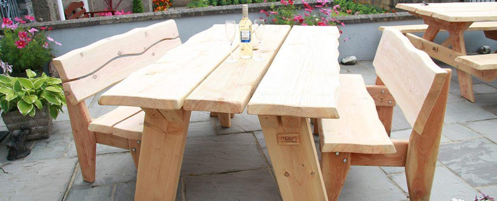 rustic garden furniture – 2