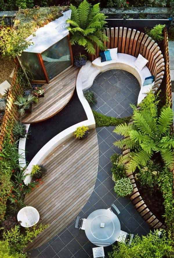 small backyard landscaping ideas to create a special corner at home - Narrow Backyard Design Ideas