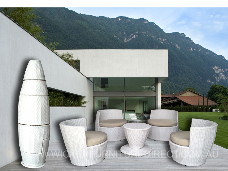 With Recent Amendments In Technology And Manufacturing Techniques, There  Are Many New Designs, Patterns Available For White Outdoor Furniture