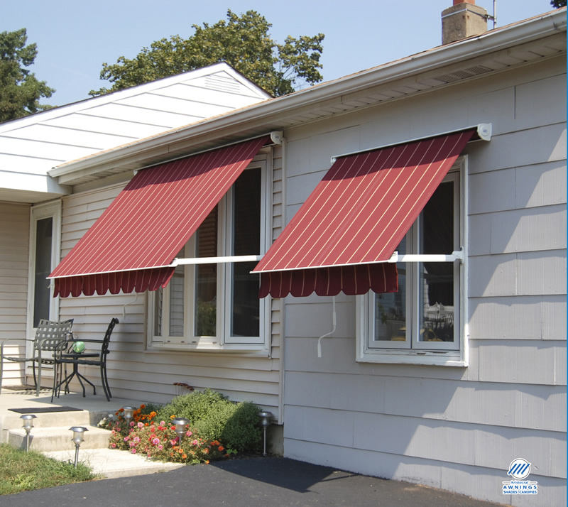 Protect your home with window awnings carehomedecor for Glass awnings for home