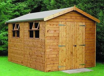 wooden garden sheds – 3