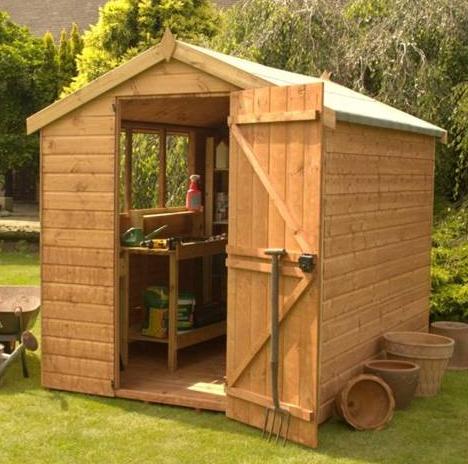 wooden garden sheds – 7