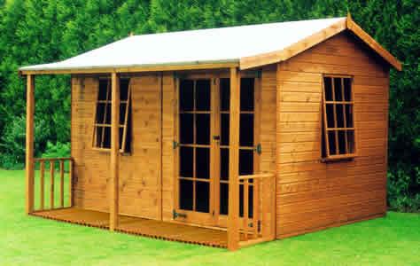 wooden garden sheds – 9