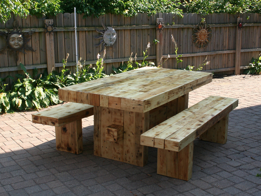 Wooden Outdoor Furniture To Enjoy The Sun Carehomedecor