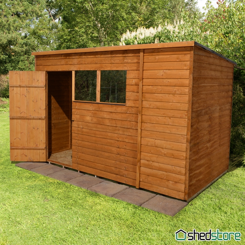 wooden sheds the perfect hiding spot for those messy garden equipment - Garden Sheds 10 X 6