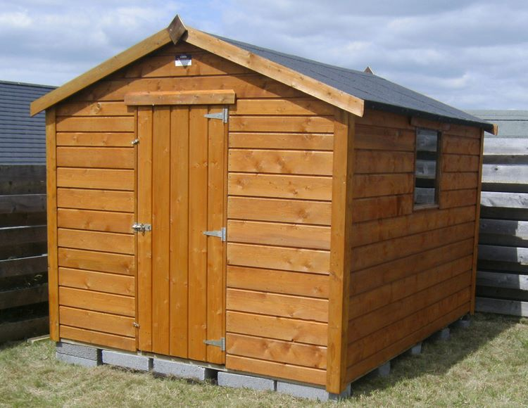 wooden sheds the perfect hiding spot for those messy garden equipment