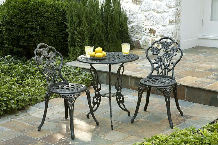 Wrought Iron Outdoor Furniture For That Exquisite Look Carehomedecor & Outdoor Wrought Iron Chairs - Outdoor Designs